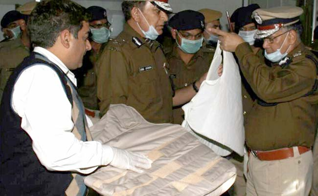 Weapons and Commando Uniforms recovered from Rampal