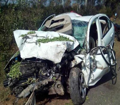 Hyderabad Infosys employee  dies in ORR accident
