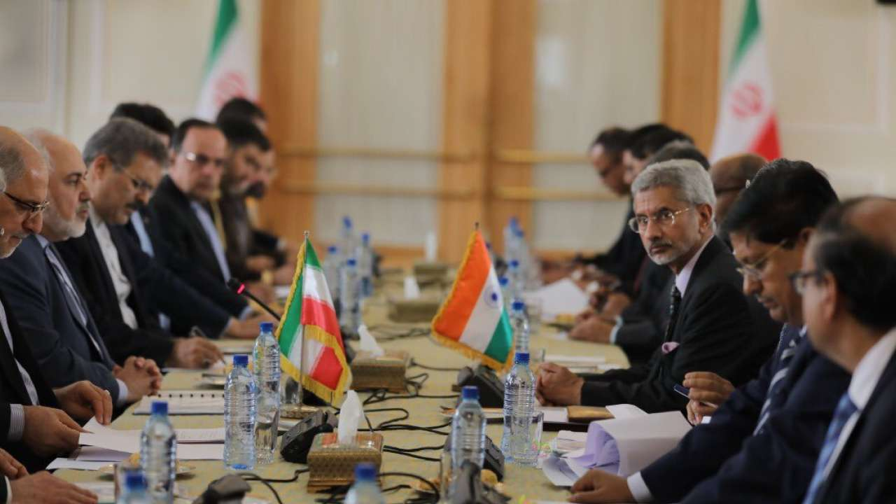 S Jaishankar co-chairs 19th Joint Commission meeting with Iran Foreign Minister
