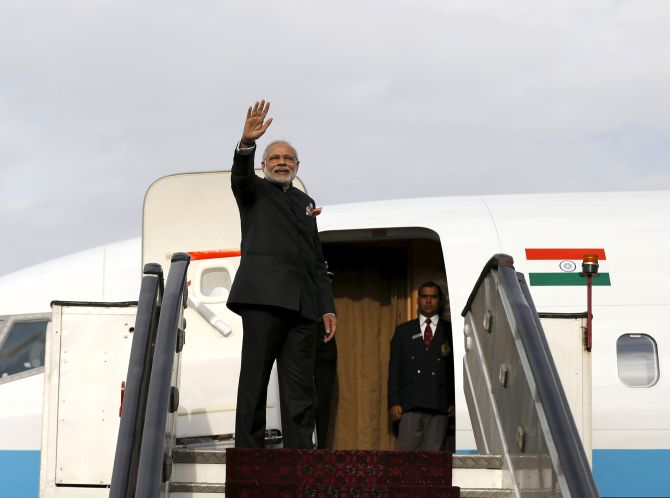 PM Modi to embark on 4-nation tour today
