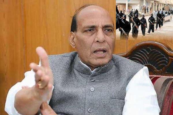 India alert to ISIS threat, says Home Minister Rajnath Singh