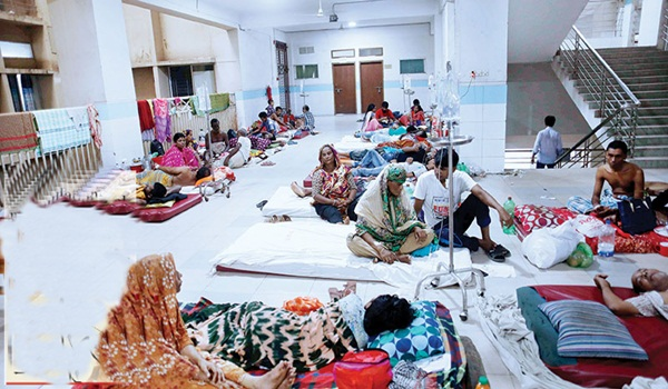 Dengue spreading to different district in Bangladesh