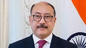 foreignsecretaryharshvardhanshringlameetsafghanambassadortoindiafaridmamundzay