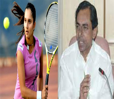 KCR congratulates Sania Mirza on No.1 ranking