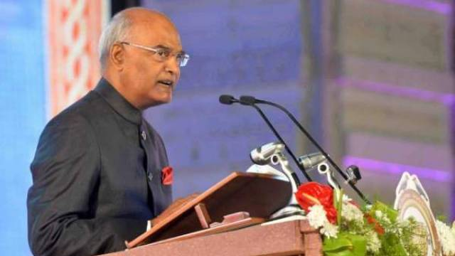 India is the fastest growing country: President Kovind