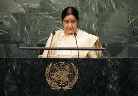 Sushma rejects Sharif