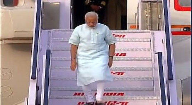 Modi reaches South Africa in second leg of four nation tour