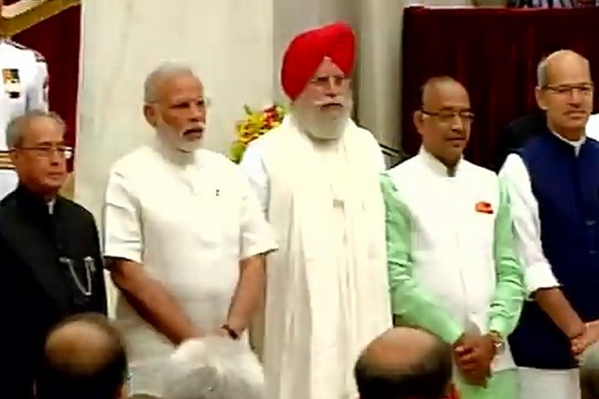 19 new ministers inducted in Modi