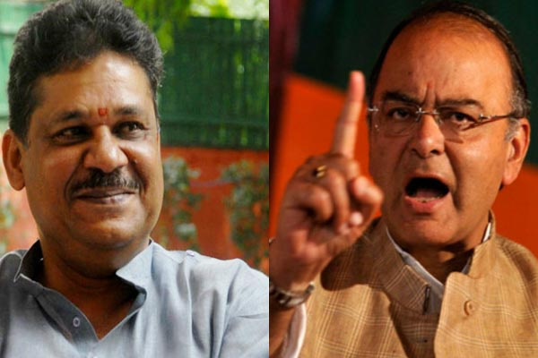 Castigation Publicly Targeting Finance Minister Arun Jaitley