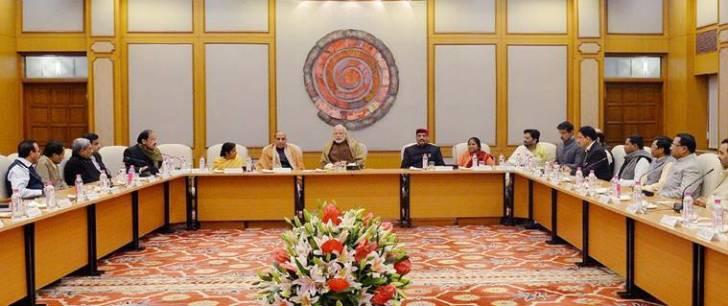 Modi asks BJP MPs to highlight govt