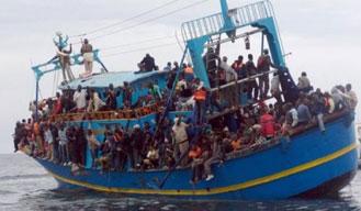 Migrant boat sinks off Libya coast; 700 feared dead