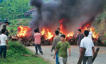 Three dead in Manipur violence