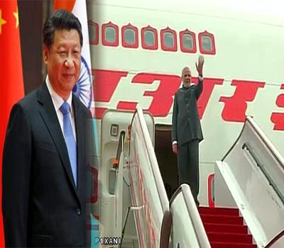 Modi concludes China  visit, leaves for Mongolia