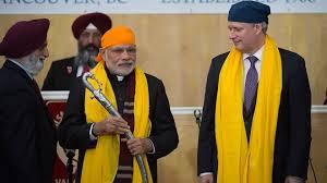 Narendra Modi arrives in Vancouver