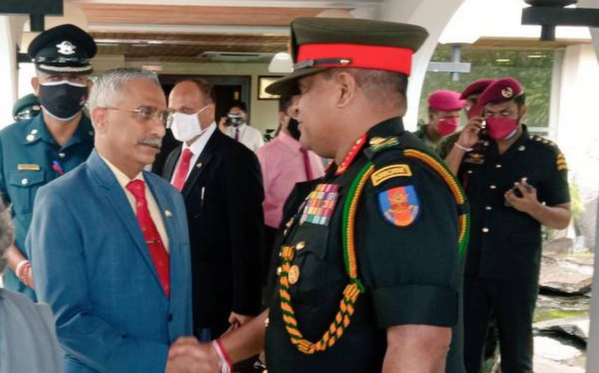 Indian Army chief Gen Naravane arrives in Sri Lanka to boost bilateral defence ties
