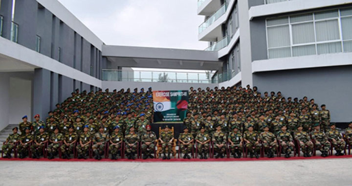India-Bangladesh begin joint military exercise