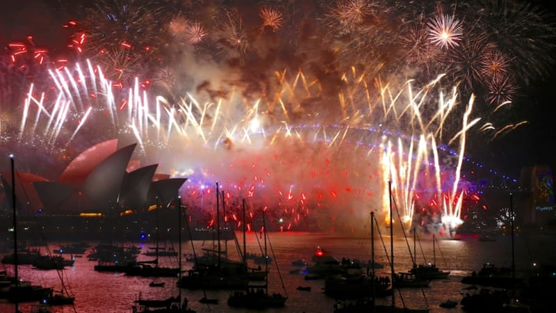 Celebrations mark arrival of New Year across the world
