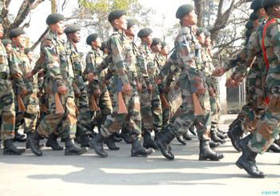 Jat stir: Army conducts flag march in Rohtak, Bhiwani