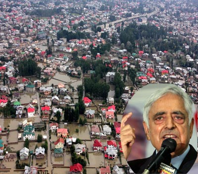 J&K flood situation CM asks for Army support
