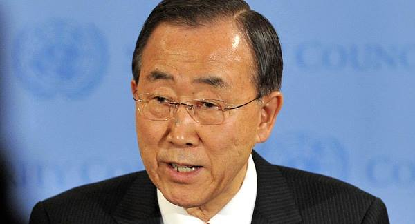 Banki Moon hails U.S gay marriage legalisation