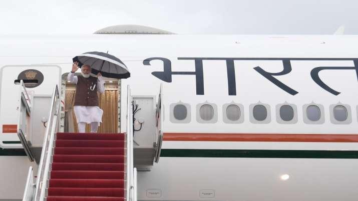 PM Modi arrives in Washington DC