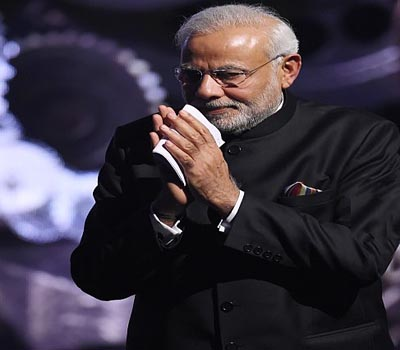 "Make in India lion was a ""symbol of new India: Modi"