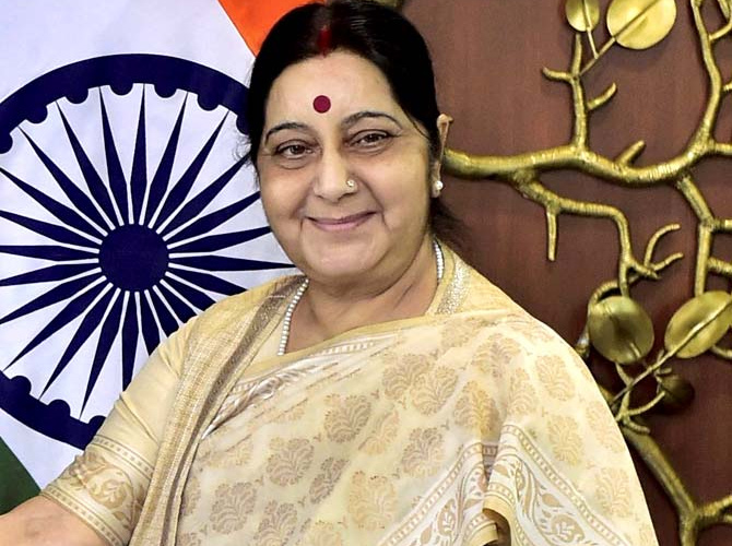 Terrorism an enemy of basic human rights: Swaraj at SCO Foreign Ministers meet