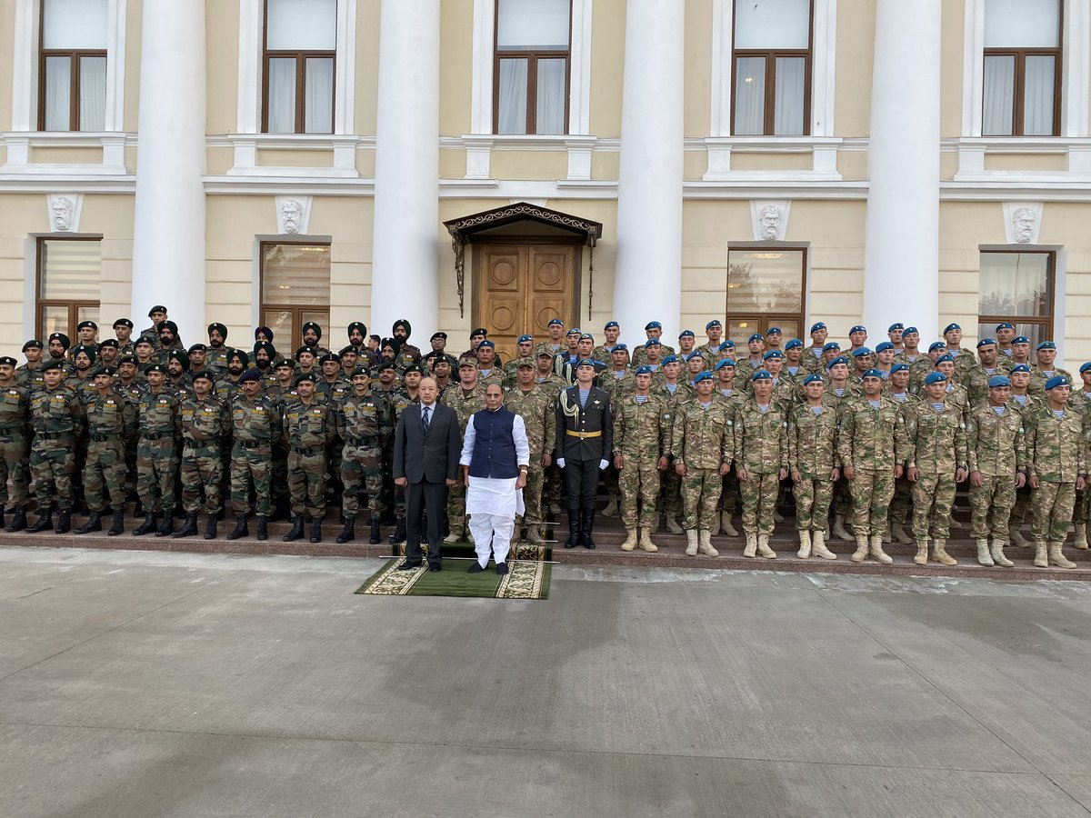India-Uzbekistan joint military exercise - Dustlik2019 begins today