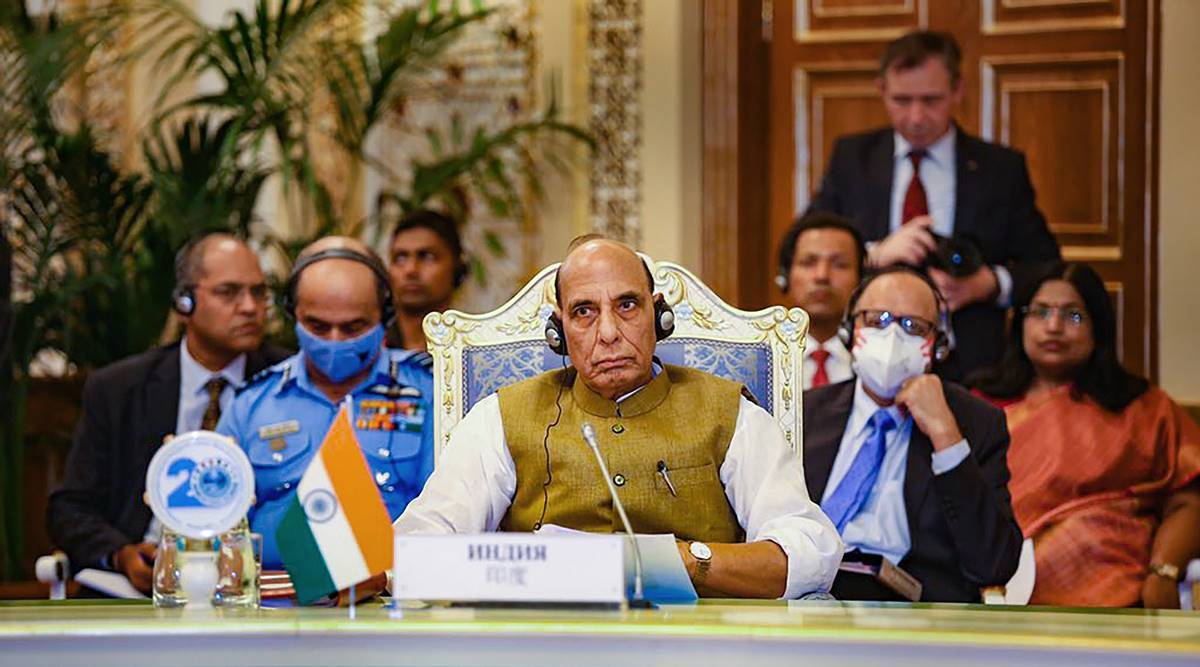 Rajnath Singh attends SCO Defence Ministers