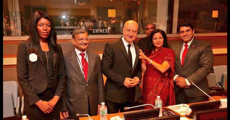 Anupam Kher named advocate for UN