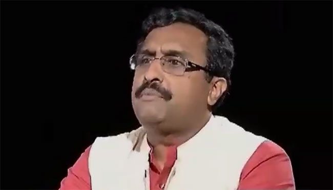 Government apologises for Madhav