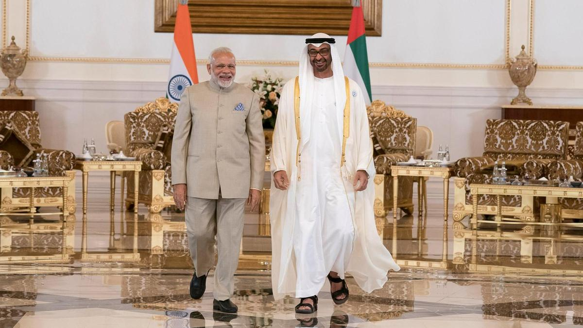 PM Modi to hold talks with Crown Prince of Abu Dhabi