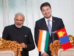 India to give $1 billion  credit line to Mongolia