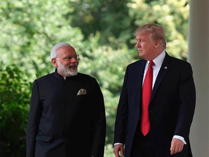 Modi, Trump agree to enchance peace across Indo-Pacific region