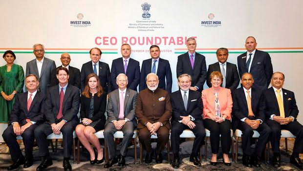 PM meets CEOs of 17 global energy companies in US