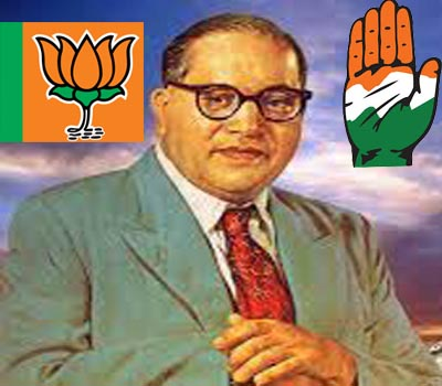 Cong, BJP locked in tug-of-war over Ambedkar legacy