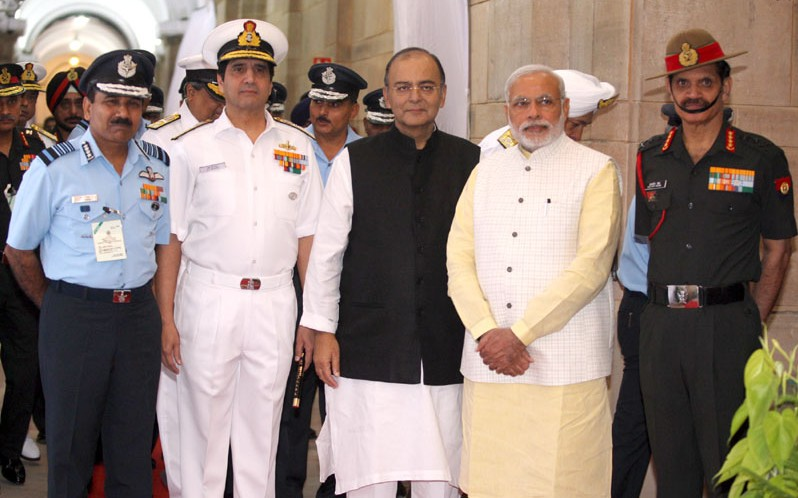 Modi to address combined commanders
