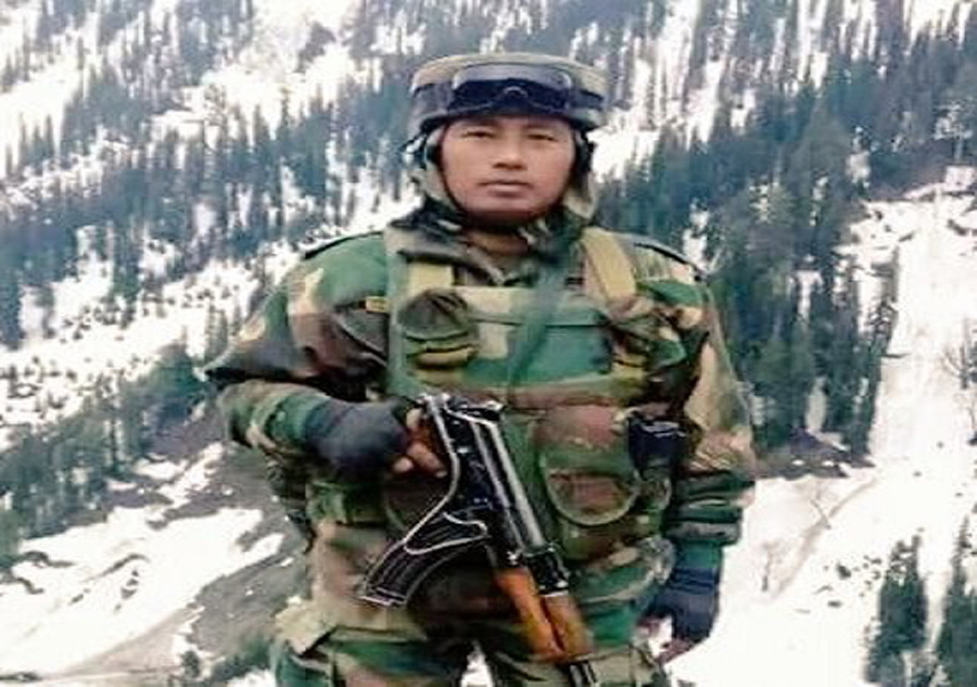 Havildar Hangpan Dada honoured with Ashok Chakra posthumously