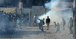 Masarat held; violence breaks out in Kashmir