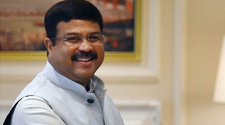 Union Minister Dharmendra Pradhan arrives in Dubai