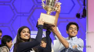 Indian-American joint winners at US spelling bee for second consecutive year