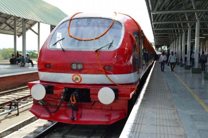 Four new DEMU trains to be launched in J&K today
