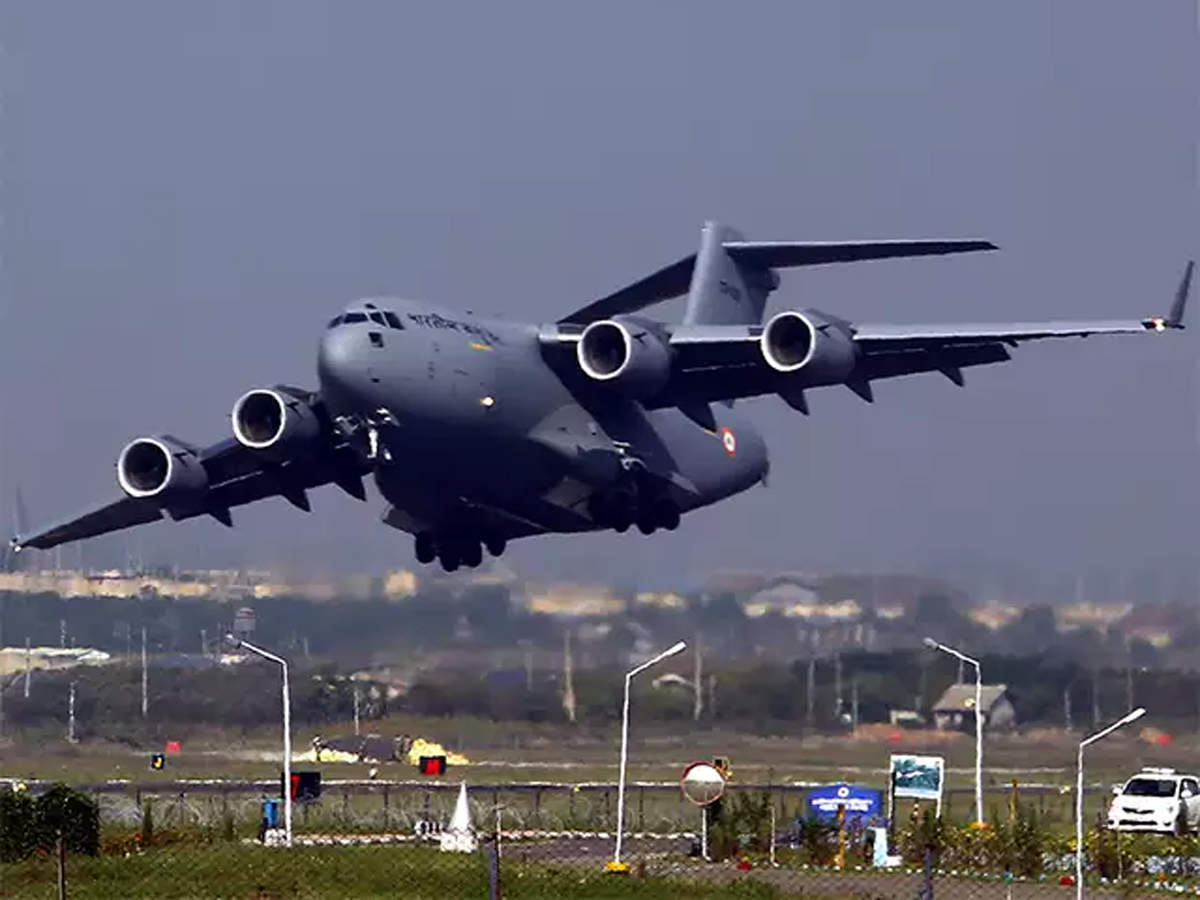 Coronavirus: IAF plane with Indians from Iran lands at Hindon airbase