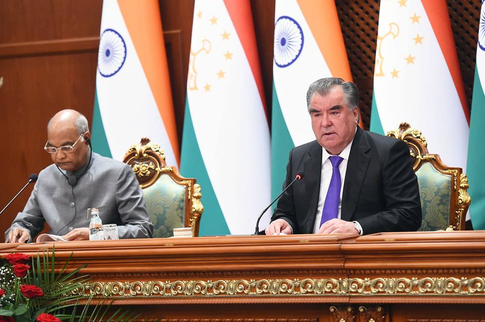 India, Tajikistan sign several MoUs in various fields