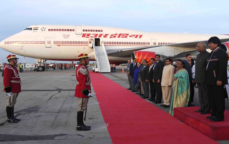 President Kovind reaches Bolivia on second leg of his three nations tour