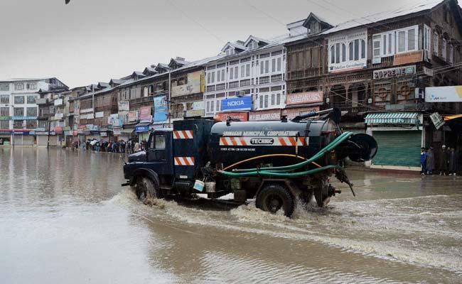Flood declared in Kashmir after heavy rain