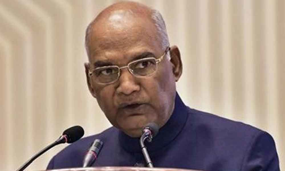 President Kovind addresses Indian community in Berne