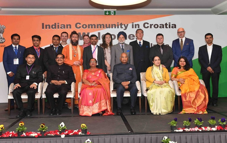 President Kovind says peace and security are critical to foster the well-being of humanity