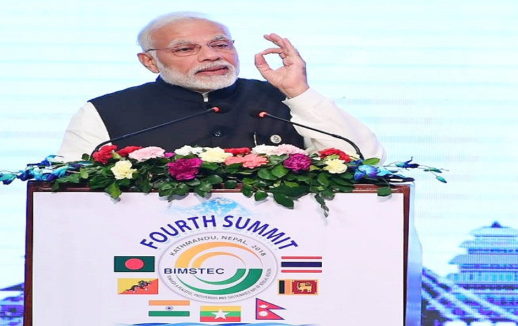PM Modi calls for enhancing connectivity among BIMSTEC nations