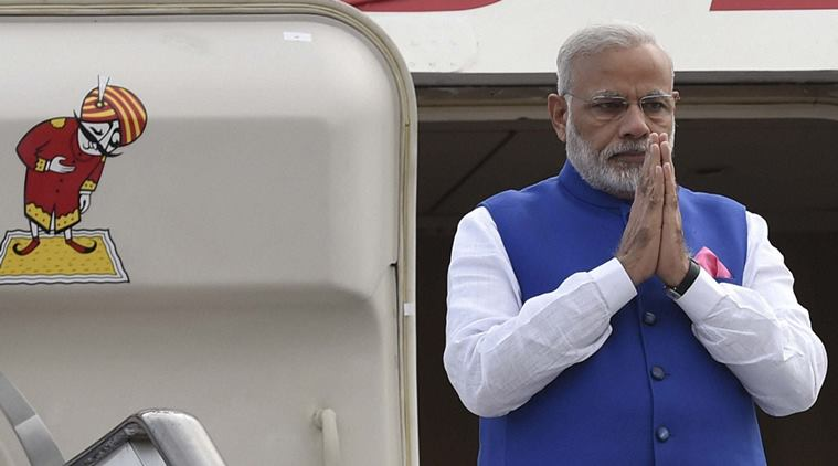PM Modi returns home after concluding his four nation tour to Africa